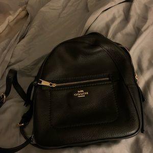 Coach mini backpack purse